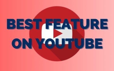 This is one of the best features on Youtube